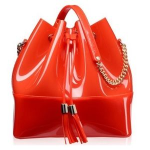 Kartell Grace K Bucket Bag (Coral) MADE IN ITALY